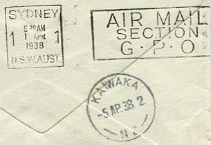 Sydney Mail April 17 1937 Back home from the Show and the Races Pacific Flight