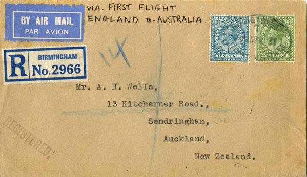 experimental airmail uk